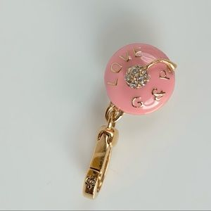 Juicy Couture Jewelry - Juicy Couture Cupcake Charm Love G&P